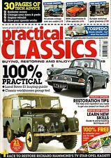 Practical Classics Magazine October 2008 .. INTER TORPEDO .. reader restoration