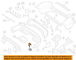 MERCEDES OEM 11-16 E350 Front Bumper-Corner Cover Clip 0089886878