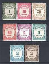 """FRANCE STAMP TAXE 55 / 62 """" SERIE 8 TIMBRES """" NEUFS xx LUXE   P453"""