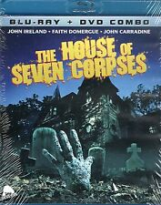 House of Seven Corpses Blu Ray & DVD Severin Paul Harrison John Carradine