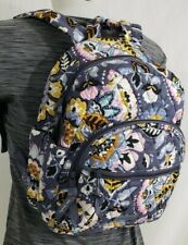 NWT Vera Bradley ESSENTIAL COMPACT BACKPACK Travel Purse Bag CHARMONT MEADOW
