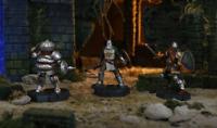 Dark Souls Heroes of Lordran Figurine Set Oscar Solaire Siegmeyer Figures Series