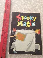 Vintage Spooky Magic Scholastic Books 7th printing 1966 paperback