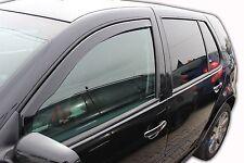 DVW31125 SET 2 DEFLETTORI ARIA  ANTITURBO per  VW GOLF 4 IV  5 PORTE 1997-2004