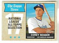 2017 Topps Heritage All Topps #367 COREY SEAGER Los Angeles Dodgers