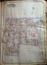 ORIGINAL 1939 E. BELCHER HYDE ATLAS MAP BAYSIDE QUEENS NEW YORK