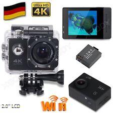 Mini Ultra HD 4K 16MP Wasserdicht Sport Camera Helm kamera Action Cam DV WIFI DE