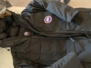 Canada Goose Expedition Parka Mens Size XL Black