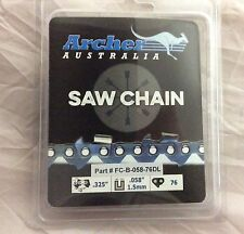 """20"""" Chainsaw Chain .325 .058 76DL replaces Blue Max 53543 8901 8902 21LPX076G"""
