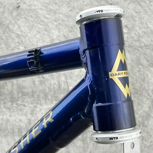 Gary Fisher Frame 15.5 in 21 Montare Vintage MTB USA WTB Blue 1 1/8 in 135 mm