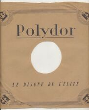 78 RPM Company logo sleeves-(French) POLYDOR