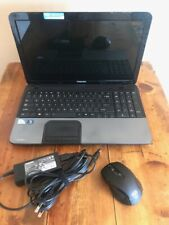 Toshiba Satellite C855D-S5105 (NEW120GBSSD) 8GB Ram WIFI Win 10 Pro Laptop WEBCA