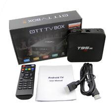 Android 6.0 T95M Smart TV Box 2G+8G Amlogic S905 Quad Core Bluetooth WiFi 4K HD