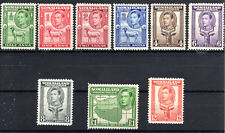Somaliland part set to 1 Rupee  SG93-101 1938 lmmint  Cat £90 [S810]