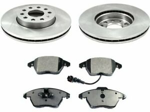 Front Brake Pad and Rotor Kit P553GY for Beetle Golf Jetta Rabbit 2005 2006 2007