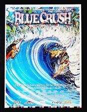 Original 1998 BLUE CRUSH Indie Surf Movie Poster Surfer Girls Hawaii VALIERE ART