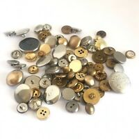 Vintage Lot of 75 Buttons