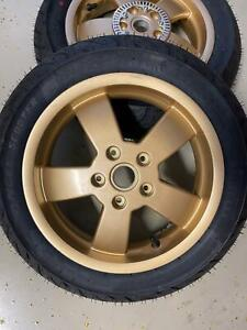 Kompletträder Piaggio Vespa GTS 125/300 Gold