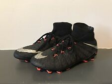Nike Jr Hypervenom Phantom III 3 Elite FG Soccer Cleats Unisex Kids 5Y Youth