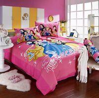 Disney Five Princess 8pcs Comforter Set in a Bag Twin Full Queen Bedding Set