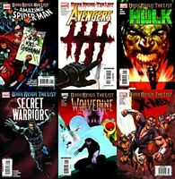 Dark Reign: The List Assorted Lot Marvel Comics - 6 Comics