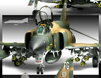 [ACADEMY] 1/48 Assembly F-4C Vietnam War #12294  U. S. Aircraft Model Kit