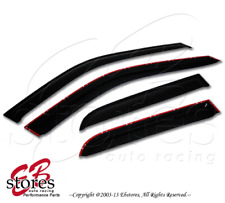 2.0mm Thickness Outside Mount Rain Window Visor Volkswagen VW Golf 99-05 4pcs