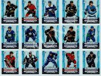 2020-2021 Tim Hortons Hockey Cards Clear Cuts