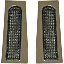 Custom Dynamics Smoke Fillerz LED Saddlebag Support Lights For Harley