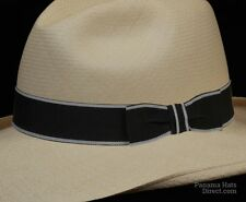 Hat band 5 - Fedora Men Sun Panama fedora Replacement GrosGrain Pleeted Ez Fit