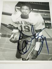 Eric Dickerson Hula Bowl SMU 1983 Authentic Signed 8 x 10  Photo