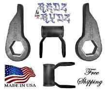 "1992-1999 Tahoe Yukon Suburban Blazer K5 3"" Lift Kit Keys Shackles Leveling Kit"