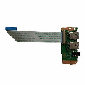 Toshiba Satellite Pro R50-C Dual USB Board Audio Port Headphone Jack A4230A