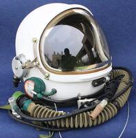 RARE Flight Helmet High Altitude Astronaut Space Pilots Pressured Size :1# XXL