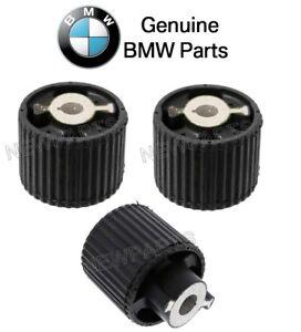For BMW F01 F02 F07 F10 F12 Rear Left Forward & Rearward Subframe Mounts Genuine