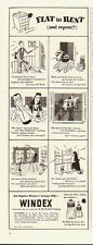 1946 Vintage ad for Windex~The Drackett Company~Flat or Rent (101613)