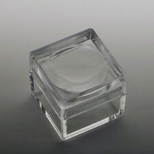Acrylic Box with 4X Magnifier Cover Bug Box Set of 10