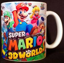 SUPER MARIO 3D WORLD - Coffee MUG - CUP - SNES NES N64 - Land - Nintendo - Bros