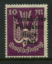 GERMANY 1925 AIR...FRANKFURT SPRING FLIGHT OVERPRINT...UM MINT