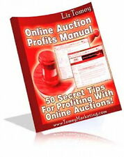 Online Auctions Helps You Make Money With  50 Secret Tips & Tricks Revealed (CD)