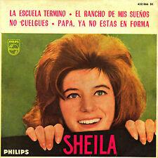 EP SHEILA la escuela termino / L'ecole est finie SPANISH 1963