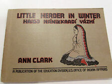 Little Herder In Winter, by Ann Clark - 1942 - Vintage Softcover Book