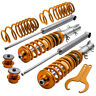 Front+Rear Coilovers Kit for VW Golf MK4 2WD only A4 1998-2005 Coil Springs