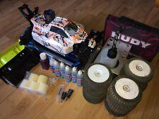 Team Associated RC8.2 + OS 21VZ-B V-Spec + Startbox und weitere Teile