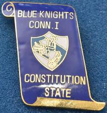 Blue Knights Lapel Vest Pin Connecticut I Law Enforcement Motorcycle Club Police