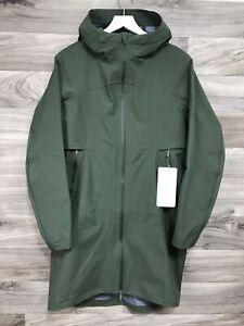 Lululemon Cloud Crush Jacket Size 6 Pesto Green PEST Rain Waterproof 92214