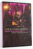 CHICK COREA QUARTET THAT OLD FEELING Live in L.A. '95 DVD Jazz Door 2011 Musica