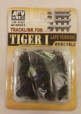 AFV Club 1/48 Tiger I Late Version Workable Track Links 48003