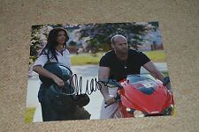 CHARISMA CARPENTER signed Autogramm 20x25 cm In Person THE EXPENDABLES Stallone