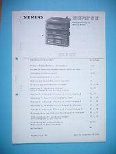 Service manual manual for Siemens RH 180 ,ORIGINAL